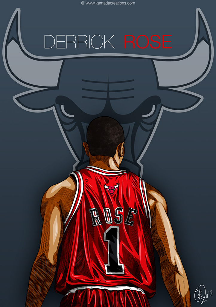 derrick rose kamadacreations